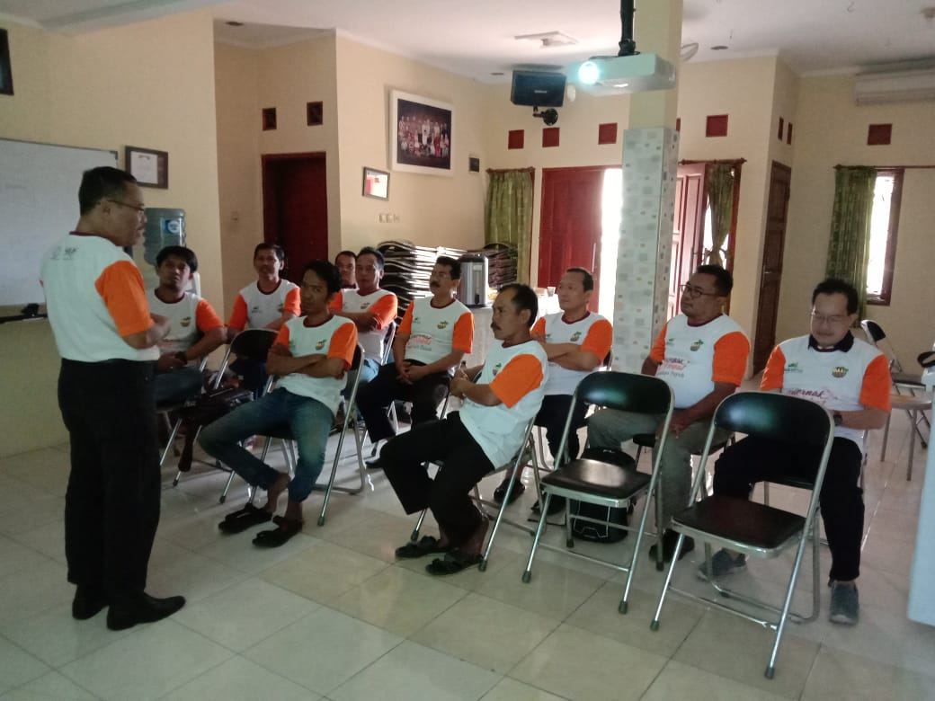 REPORT TRAINING PUYUH BJ CENTRE 22 SEPTEMBER 2019